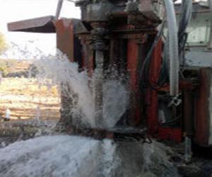 Perforaciones para construcción de pozos en Huelva