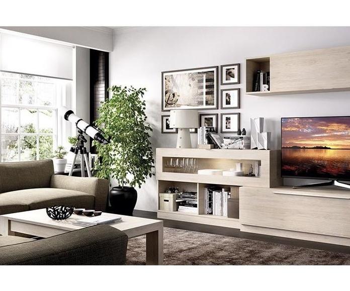 Salon Comedor Moderno en Muebles Sagunto