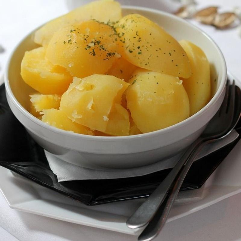 Patatas aliñadas 1kg: Nuestros productos  de Precocinados Mi Tierra