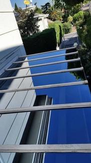 Trabajos verticales de limpieza de fachadas y cristales en Pozuelo de Alarcón, Boadilla del Monte y Las Rozas