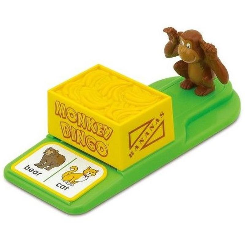 Monkey Bingo. Juega y aprende inglé