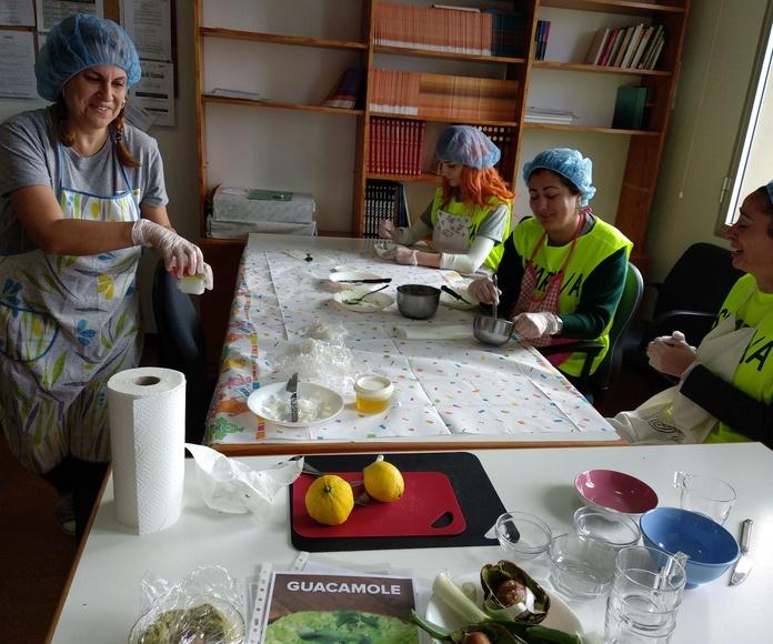 Talleres ocupacionales: Proyectos y Servicios de Asociación Domitila