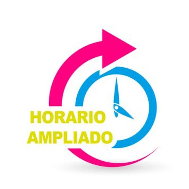 Horarios: Servicios de Colegio Tres Olivos