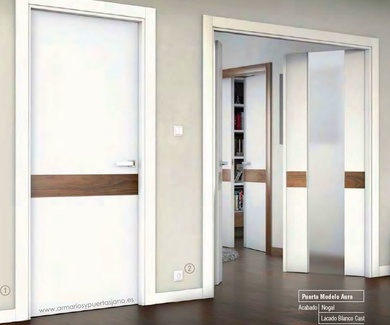 Nuevo modelo puerta lacada blanco