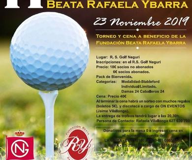 Torneo de Golf Fundación Beata Rafaela Ibarra
