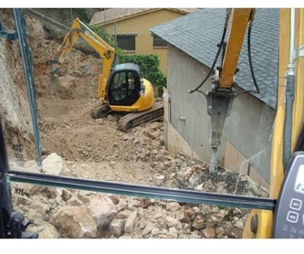 Muros de rocalla: Servicios de Construcciones y Excavaciones Andrés Vila