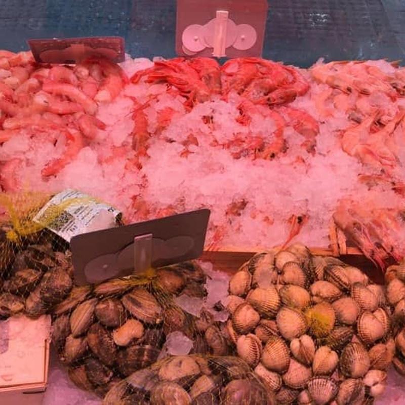 Mariscos: Productos y Servicios de Pescadería La Central
