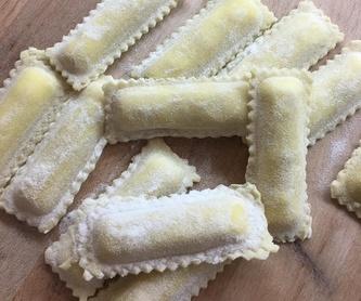Gnocchi fresco relleno de pesto : Nuestros productos de La Pastaia