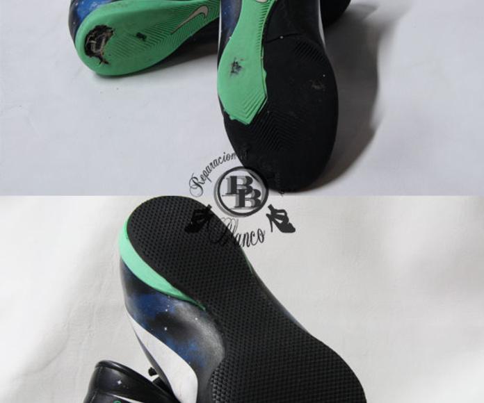Reparación de calzado deportivo: reparaciones de Reparación De Calzado Blanco