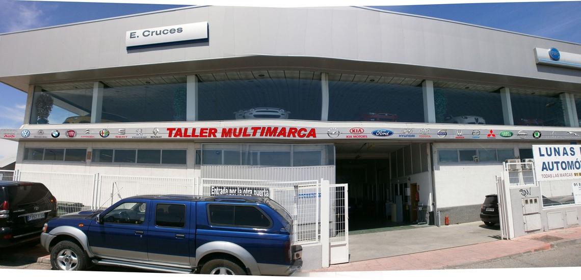Taller multimarca con coche de sustitución en Griñón
