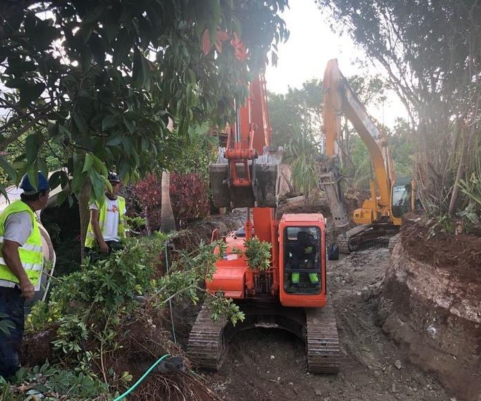 Desmontes de tierras en Tenerife: Servicios de JGE Obras Civiles y de Edificación