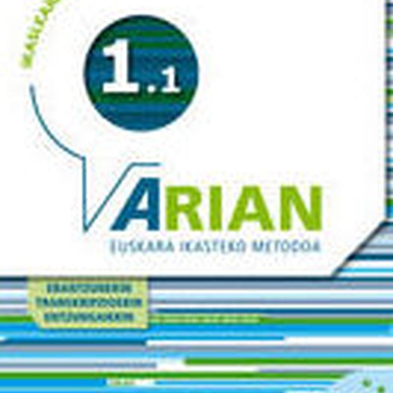 ARIAN A1.1 IKASLEAREN LIBURUA CD ERANTZUNAK