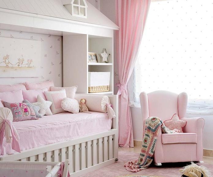 Un dormitorio para la princesa de la casa
