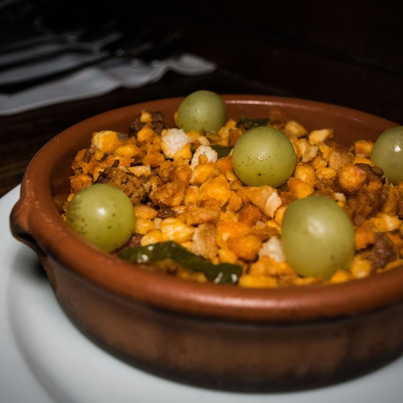 Entrantes: Carta de Mesón Restaurante Antigua Casa Patata