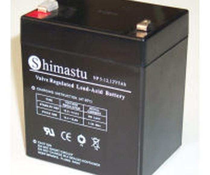 Batería plomo 12V 5Ah 89x100x70mm