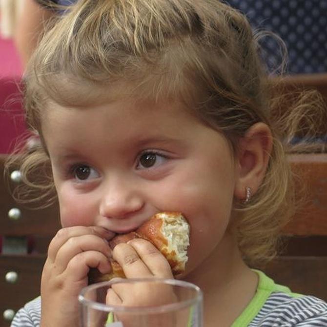 La aventura de comer en el colegio