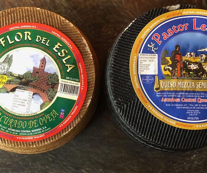 Pack ofertas quesos leon : oveja curado + semi mezcla 6 kg entre los 2: Productos de El Racó del Bierzo