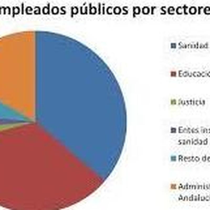 Estratificación de personal por sectores en la administración