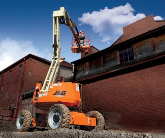Maquinaria de Construcción: servicios de Grúas Benavente