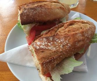 Especial pan payés: Menú de Hamburguesería Lina