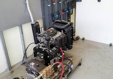 Montaje de equipos especiales de alta presión