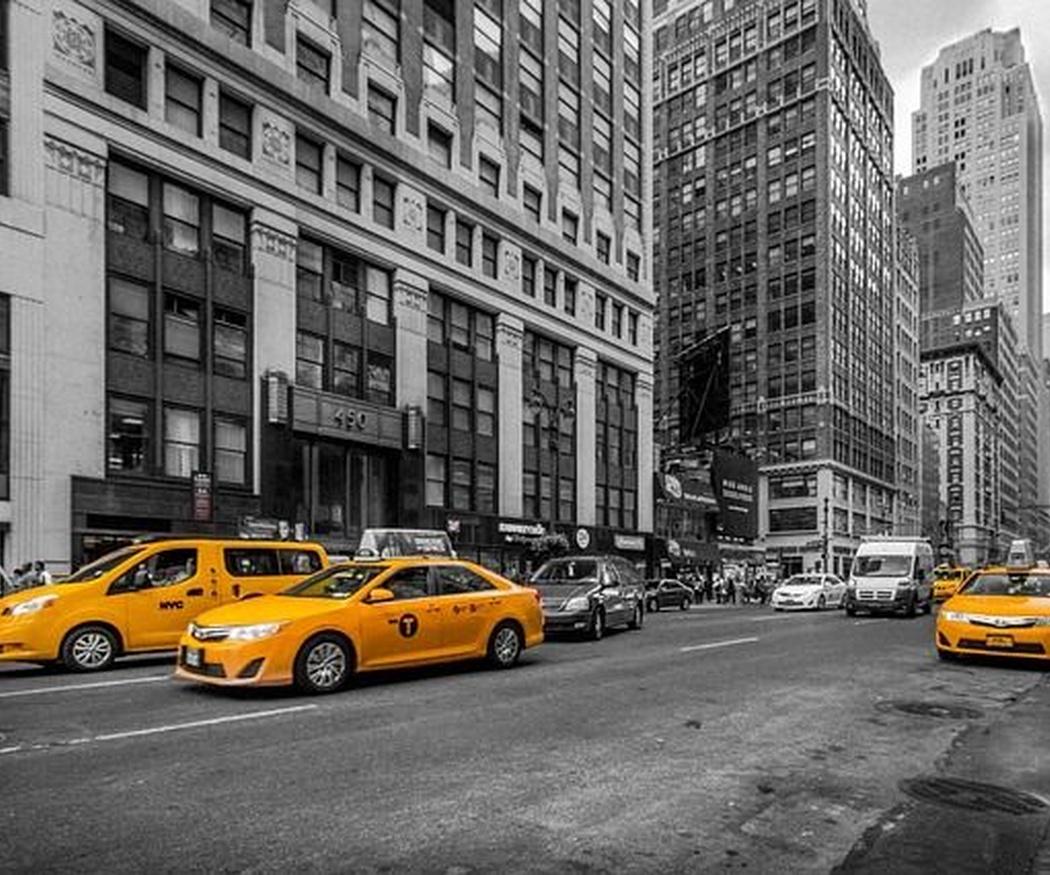 Los famosos taxis de Nueva York