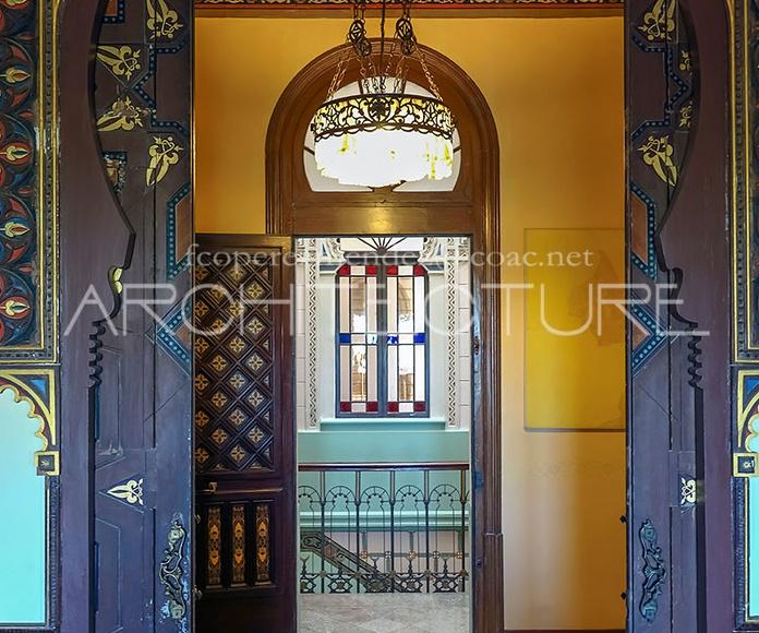 Refurbishment Villa  XIX Century  Can Xicarro.   www.architectsitges.com: Proyectos  architectsitges.com de FPM Arquitectura