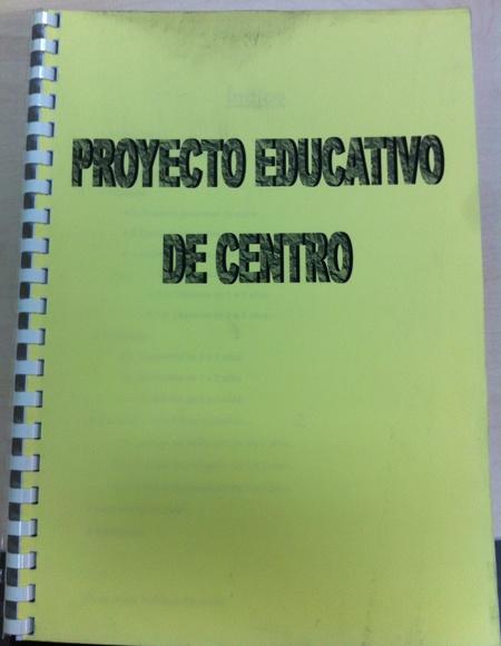 EL PROYECTO EDUCATIVO DE CENTRO: Servicios y Actividades de Escuela Infantil El Patio de Donald