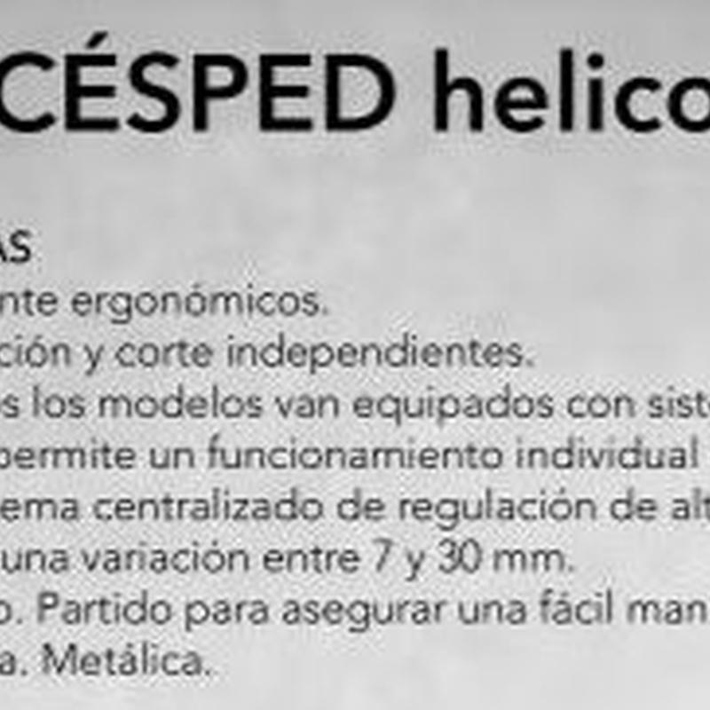 MASPORT CORTACESPED MASPORT HELICOIDAL Cód. OLYMPIC500: Productos y servicios de Maquiagri