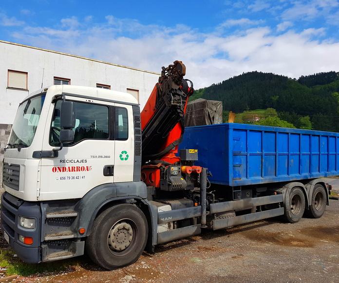 SERVICIO PUBLICO: Servicios de Reciclajes Ondarroa