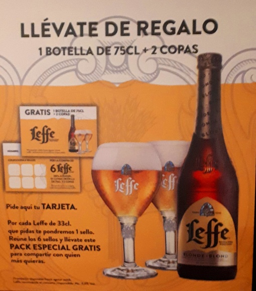 Tarjeta Regalo Leffe