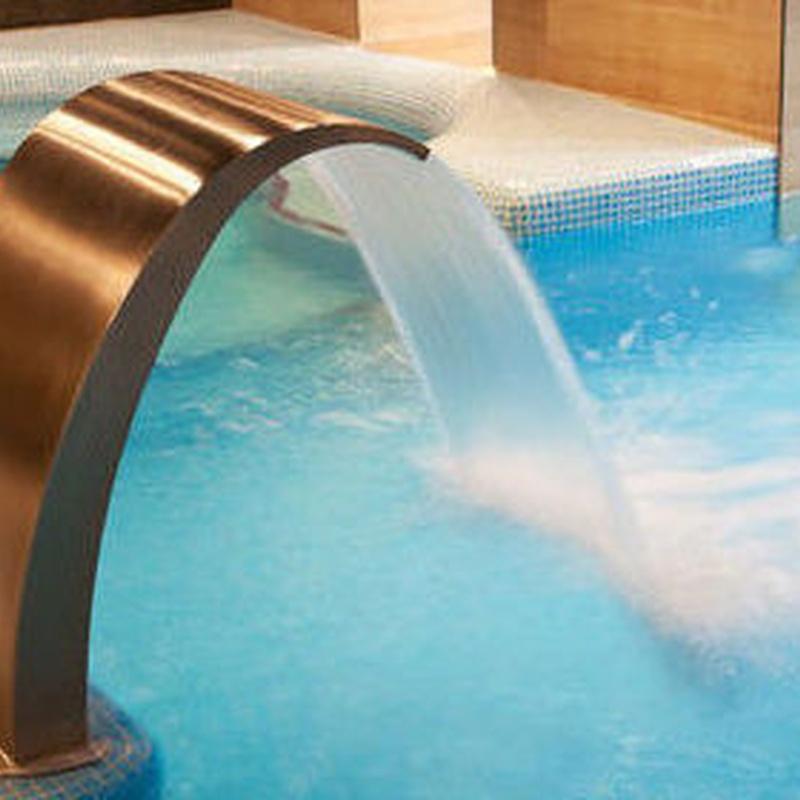 Accesorios piscinas: Productos y servicios de Piscinas Castilla - Construcción y Rehabilitación