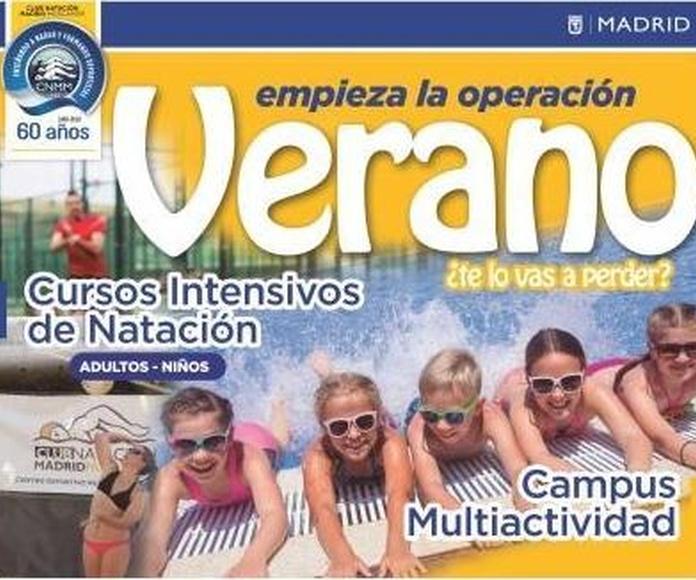 Campamento de Verano: Actividades de Club Natación Madrid Moscardó