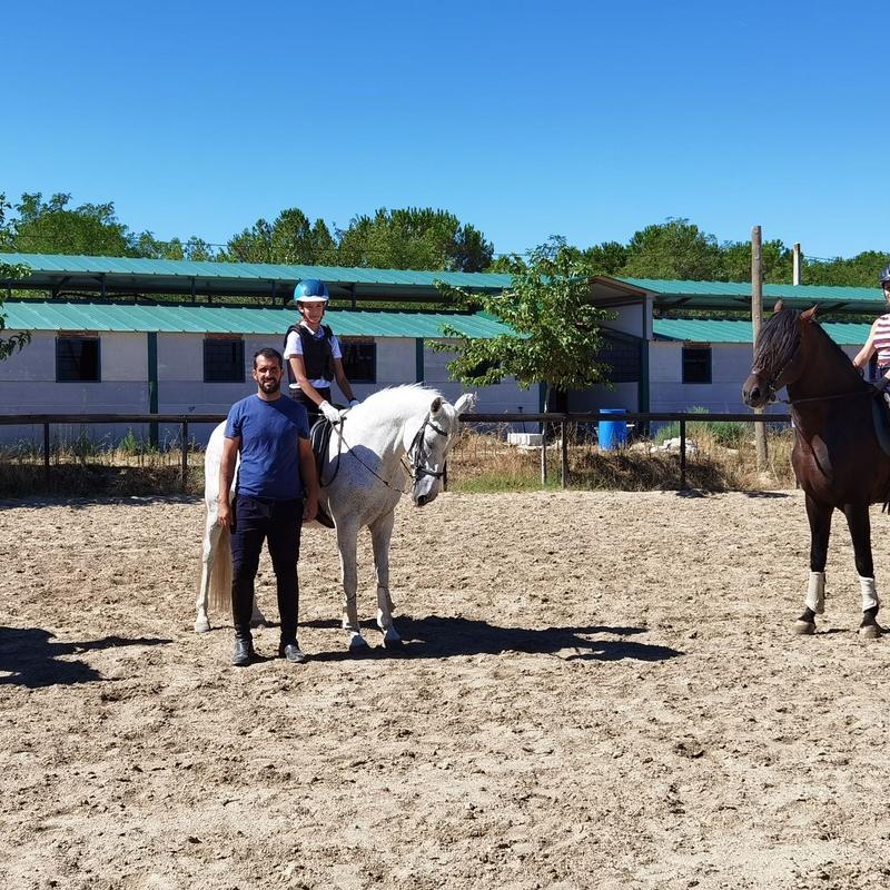 Escuela de Equitación: Servicios de Fran Arenas Doma Clásica