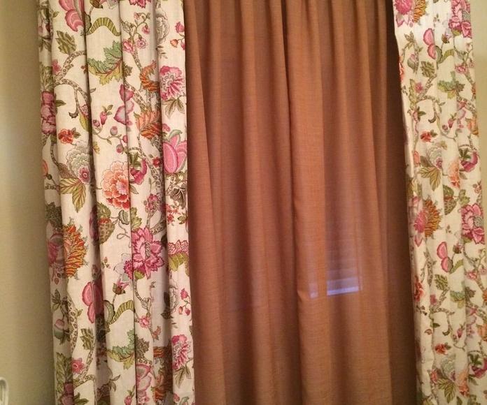 cortina dormitorio