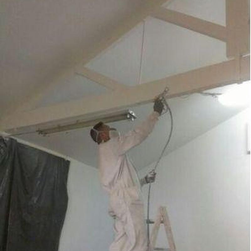 Pintura intumescente para estructuras de madera: SERVICIOS  de Ignifugaciones Lotor S.L.