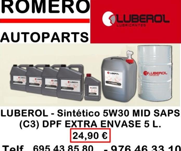 ROMERO AUTOPARTS - LUBEROL