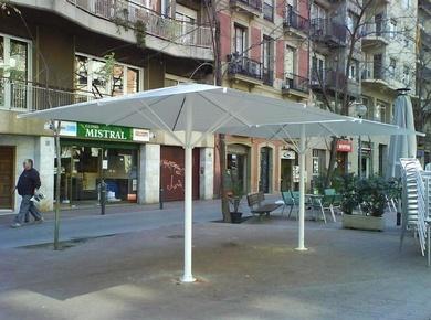 Parasoles para hostelería en Barcelona