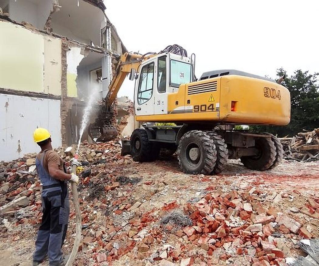 La precaución en las demoliciones