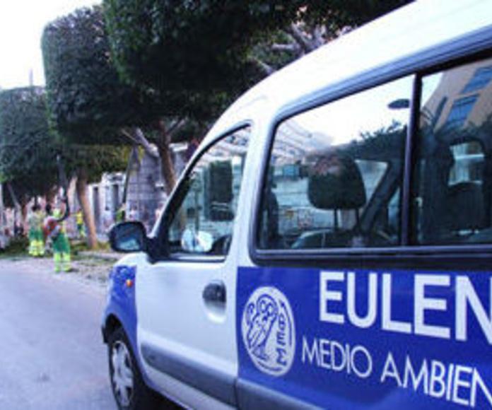 Mantenimiento de zonas verdes: Servicios de Eulen, S.A.
