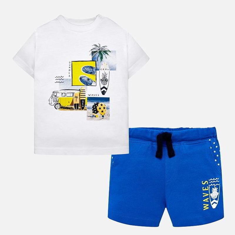 Conjunto short y camiseta
