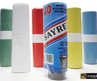 Bolsas de basura recicladas y ecológicas para el medio ambiente