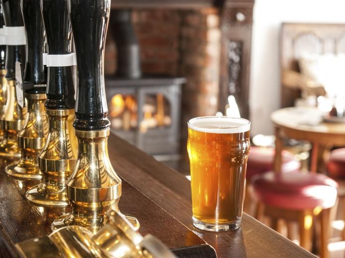 Cervezas: Carta de bebidas de Swing Tavern
