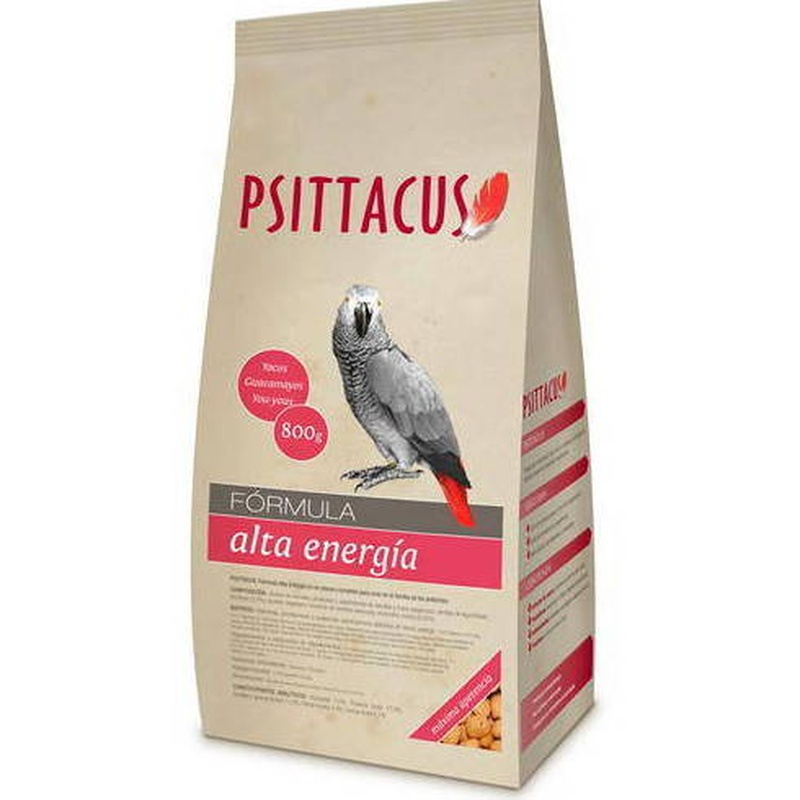 Psittacus Alta Energía 800gr: Para tu mascota de New Art Can