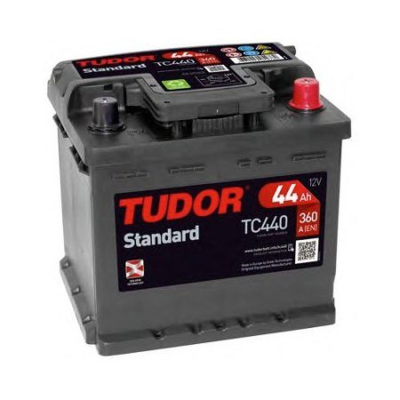 Baterías Tudor: TC440: Recambios para el Automóvil de Lucauto Madrid