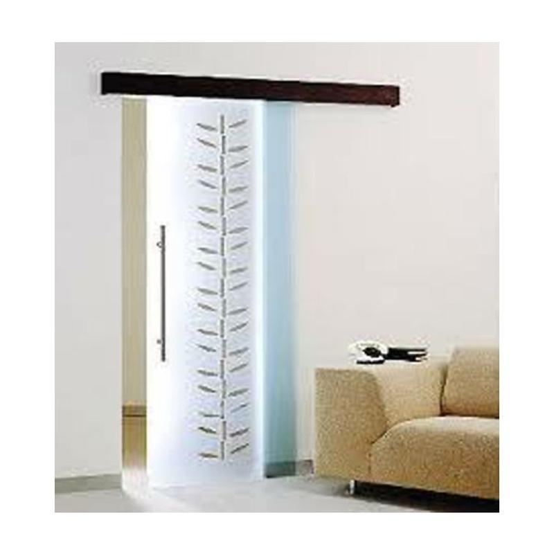 Puerta de cristal corredera con Toques naturales. Cristal de seguridad para los suyos. Pisos luminosos y con personalidad. instalados en Sant Andreu y la Eixample.