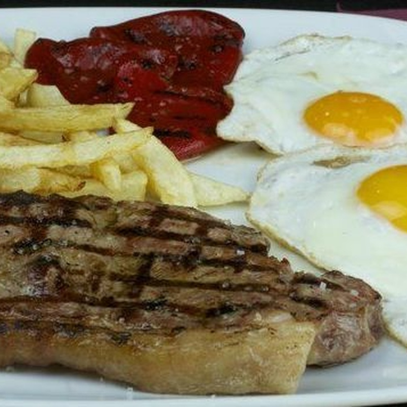 Entrecot de ternera: Menús de Restaurante Terraza La Parrilla de Valdemoro