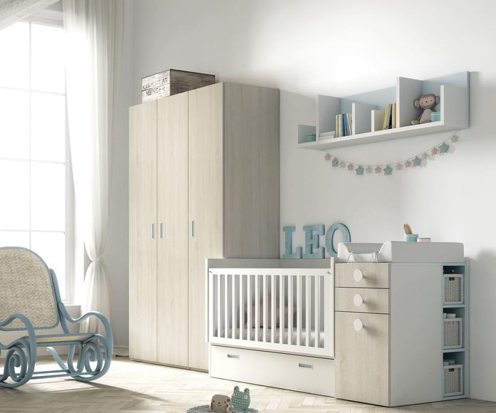 Cuna Convertible 1: Nuestros muebles de Muebles Aguado
