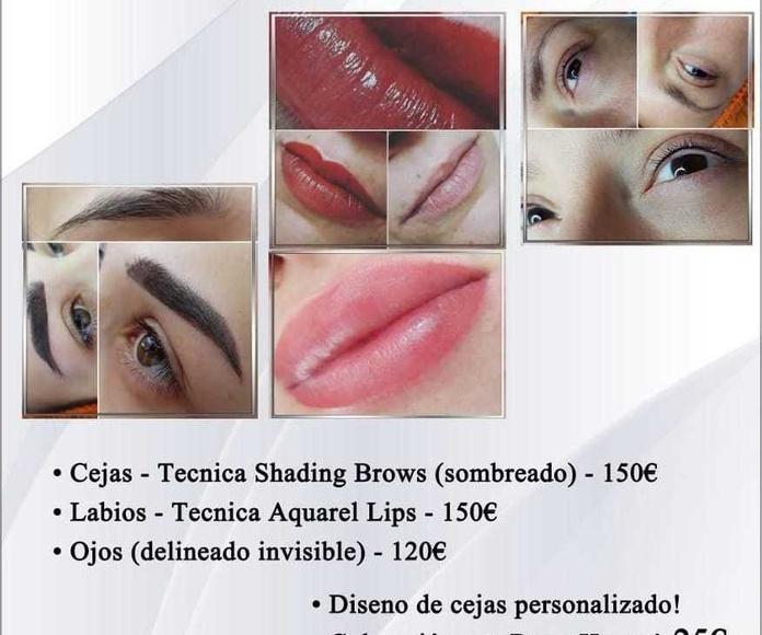 Bio tatuaje, y micro pigmentación : Servicios de Centro de Estética Alejandra