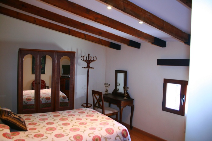 Habitación doble con baño compartido: Instalaciones de Hostal Balcón al Mar